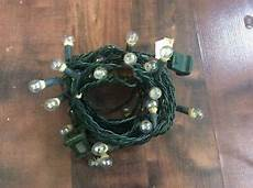 A String Of 15 Christmas Tree Lights Vintage 15 Foot String Of Globe Christmas Tree Lights Wire
