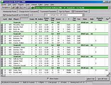 Tournament Spreadsheet Template Golfsoftware Com Golf Tournament Software