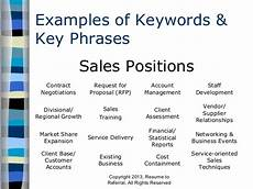 Job Keywords How To Maximize Keywords In Your Resume