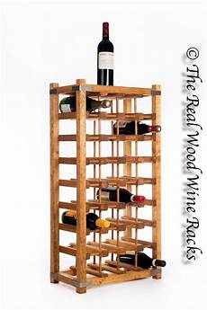 new real wooden rustic wine rack cabinet 32 bottles