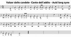 walzer delle candele musica e spartiti gratis per flauto dolce valzer delle