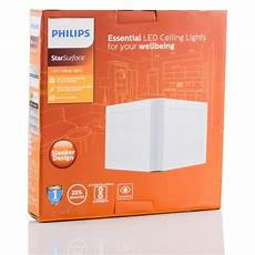 Philips False Ceiling Square Lights Philips Star Surface 18w Led Square Ceiling Light 6500k