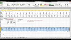 Xbar And R Chart Excel Creating An X Bar Chart Using Excel Youtube