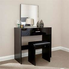 Table Ls For Bedroom Ottawa Dressing Table Black 1 Drawer With Stool Buy