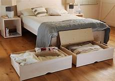 bed storage drawers with wheels feelgood eco beds