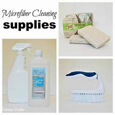 how to clean microfiber with professional results