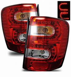 2000 Jeep Grand Cherokee Led Lights 1999 2004 Jeep Grand Cherokee Led Lights Red Clear
