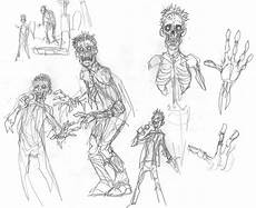 Character Design Sketches Zombie Character Design Sketches Stan Winston School Of