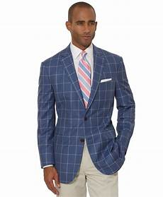 Brooks Brothers The Light Fit Windowpane Sport Coat Brooks Brothers