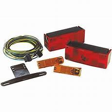 Over 80 Trailer Light Kit Wesbar 007509 Low Profile Waterproof Trailer Light Kit