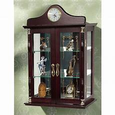 jenlea wall mounted curio cabinet reviews wayfair