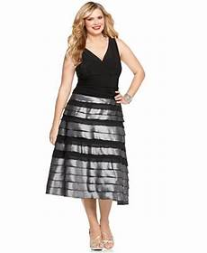 Sl Fashions Dress Size Chart Sl Fashions Plus Size Dress Sleeveless Ruched Tiered A Line
