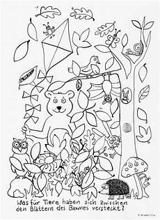 Ausmalbilder Tiere Herbst Brambrillas Mitmachspass Was F 252 R Tiere Haben Sich Im