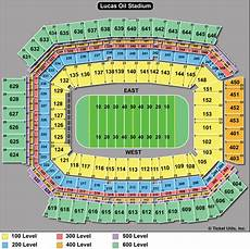 Lucas Oil Seating Chart Big Ten Football Championship Tickets 2018 Game Ticketcity