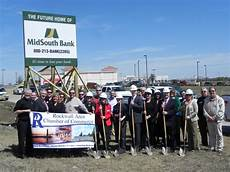 Midsouth Bank Ground Breaking For Midsouth S New Banking Location In