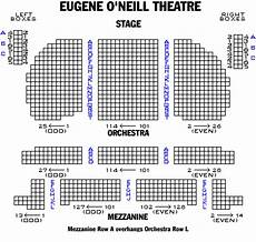 Seating Chart Eugene O Neill Theatre Eugene O Neill Theatre Playbill