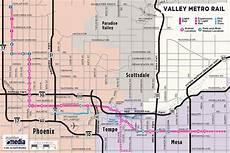 Light Rail Map Phoenix Tempe Phoenix Public Transportation Visitphoenix Com