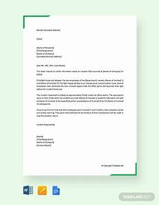 Ovr Incident Report Free Incident Report Letter In Hospital