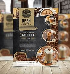 Cafe Flyer Template Coffee Flyers 11 Free Psd Vector Ai Eps Format