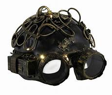 Led Lights For Welding Helmet Metallic Steampunk Half Face Led Light Up Welding