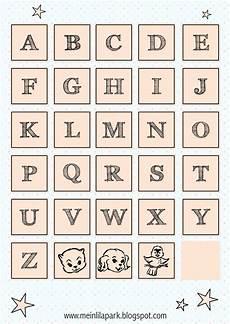 Alphabet Letters Printable Free Printable Alphabet Letter Tags Ausdruckbare