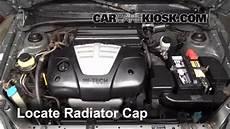 Service Manual How To Replace 2004 Kia Rio Coolant