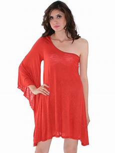 one sleeve knitted casual dress sung boutique l a