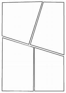 Blank Comic Book Panels Graphic Novel Layout Template Google Search Graphic
