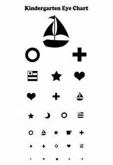 Printable Snellen Eye Chart For Kids Kindergarten Eye Chart Reference Poster Posters At