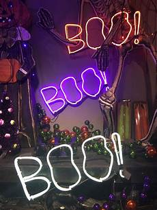 Light Up Halloween Accessories Boo Led Quot Neon Look Quot Sign Halloween Light Up Prop