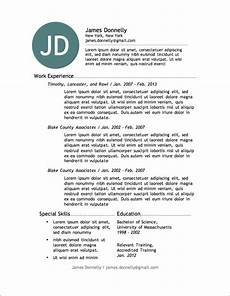 Resumes Online For Free 12 Resume Templates For Microsoft Word Free Download Primer