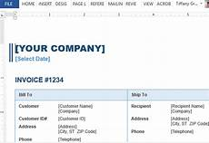 How To Create An Invoice Template In Word Sales Invoice Template For Word