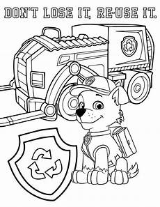Paw Patrol Malvorlagen Rocky Paw Patrol Coloring Pages Free Printable Coloring Page