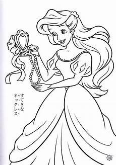 walt disney coloring pages princess ariel personajes