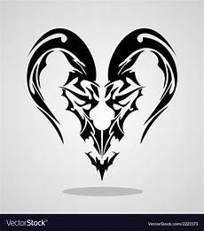 Tribal Capricorn Designs Tribal Capricorn Sign Royalty Free Vector Image