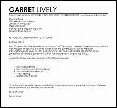 Autocad Operator Cover Letter Autocad Draftsman Cover Letter Sample Cover Letter