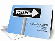 Getting Accepted To College College Acceptance Congratulations Card 1240544