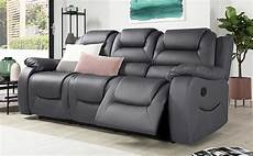 Gray Reclining Sectional Sofa 3d Image by Vancouver Grey Leather 3 Seater Recliner Sofa Furniture