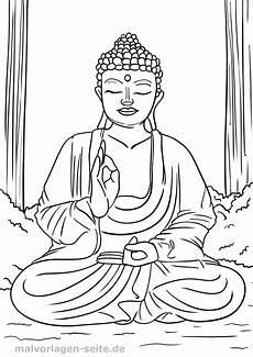 malvorlage religion buddhismus kostenlose ausmalbilder
