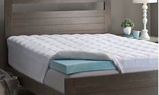 how to memory foam mattress topper thickness