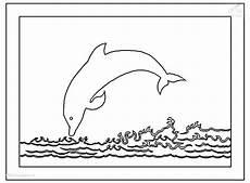 Delphin Malvorlagen Zum Ausdrucken Mit Kindern Malvorlagen Fur Kinder Ausmalbilder Delfin Kostenlos