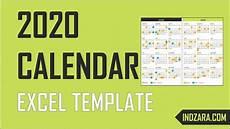 Calendar Excel Template 2020 2020 Excel Calendar Template Free Download 20 Calendar