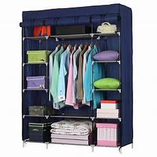 clothes for portable ktaxon 53 quot portable closet storage organizer wardrobe