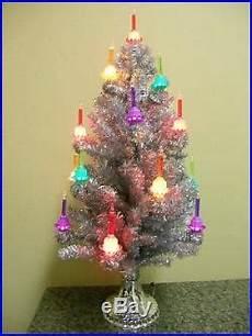Christopher Radko Shiny Brite Lights Christopher Radko Shiny Brite Bubble Light Christmas Tree