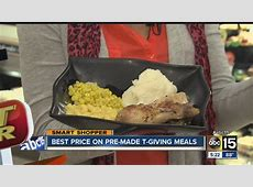 Get the best price on pre made Thanksgiving meals   YouTube