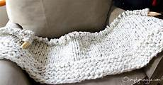 knitting blanket lush knit blanket by simply maggie simplymaggie