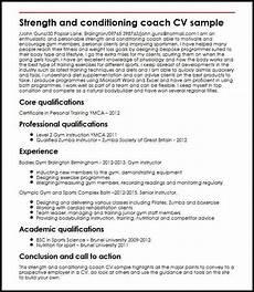 Football Coach Cv Template Inspiring Football Coach Cv Template Picture Strength