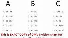 Illinois Dmv Eye Chart Dmv Eye Exam Youtube