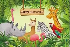 Jungle Safari Photography Backdrop Birthday by Jungle Safari Theme Birthday Backdrop Children