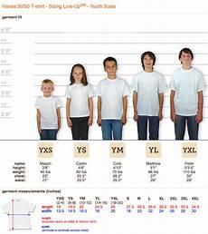 Gildan Youth Medium Size Chart Custom Shirt Sizing Guide Order Shirts Made Easy